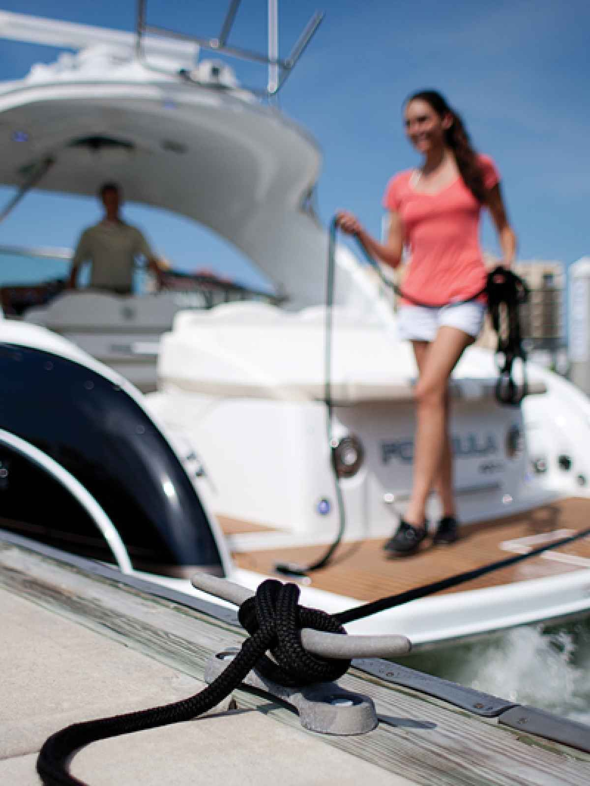 how to dock a boat with twin engines