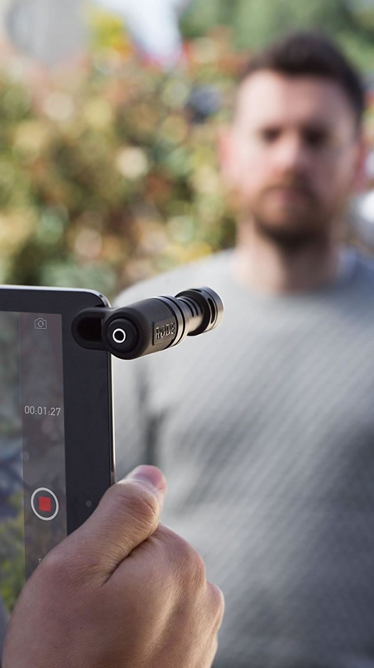 Rode Videomic Me Directional Microphone For Smart Phones Captures Incredible Audio Android Ios Smartphone More And People Are Uploading Their