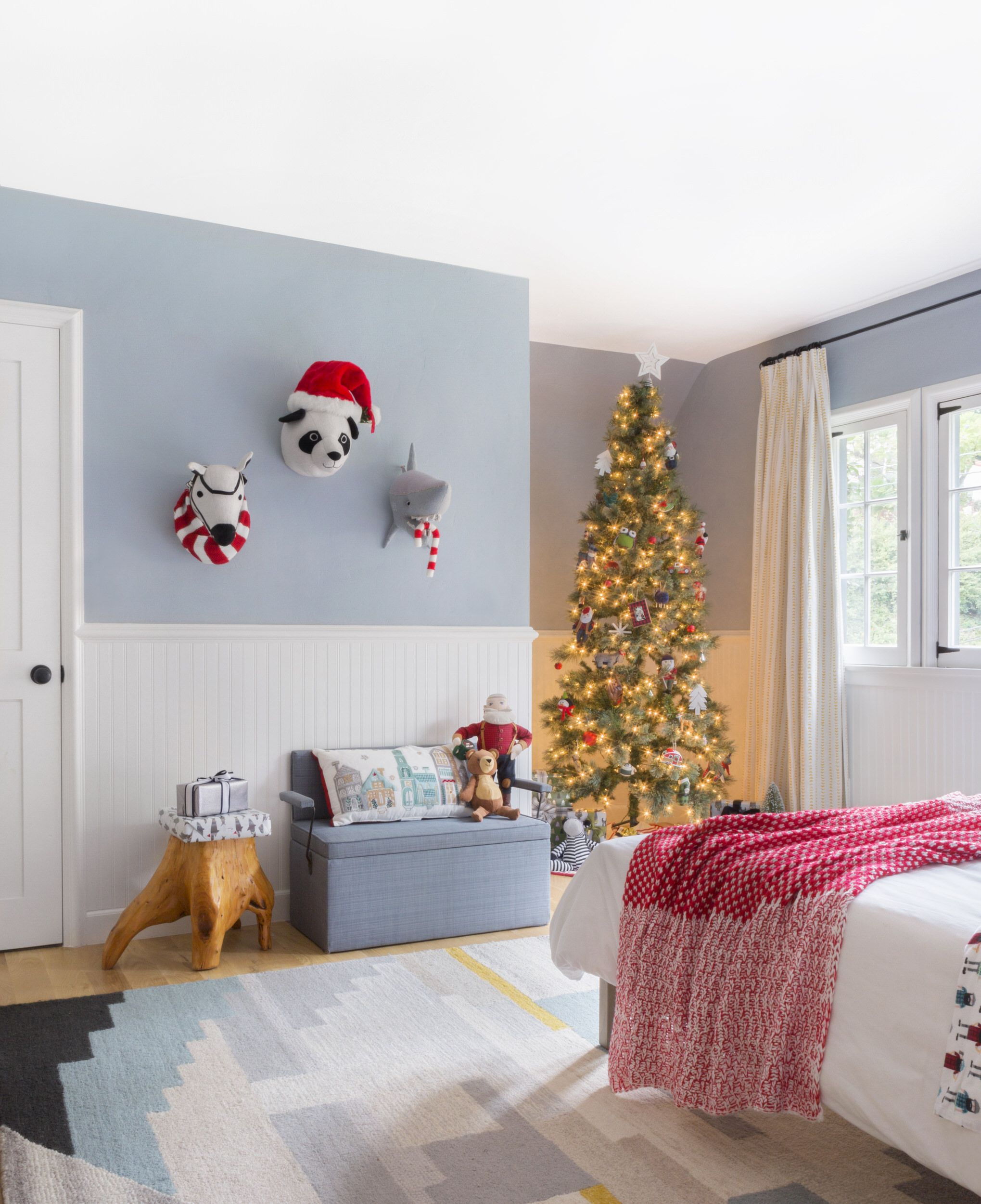 Charlie S Room Decked For The Holidays Shop The Look