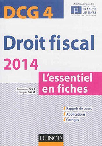 35 Fiches Pour Assimiler L Essentiel Du Programme Dcg 4 Droit Fiscal La Tva Les Bic L Imposition Des Benefices L Fiches Impot Sur Le Revenu Applications