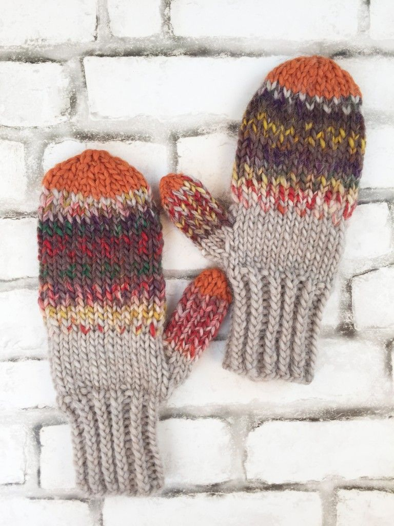 Knitting Pattern: Fall Festival Mittens by Vickie Howell | Fall ...
