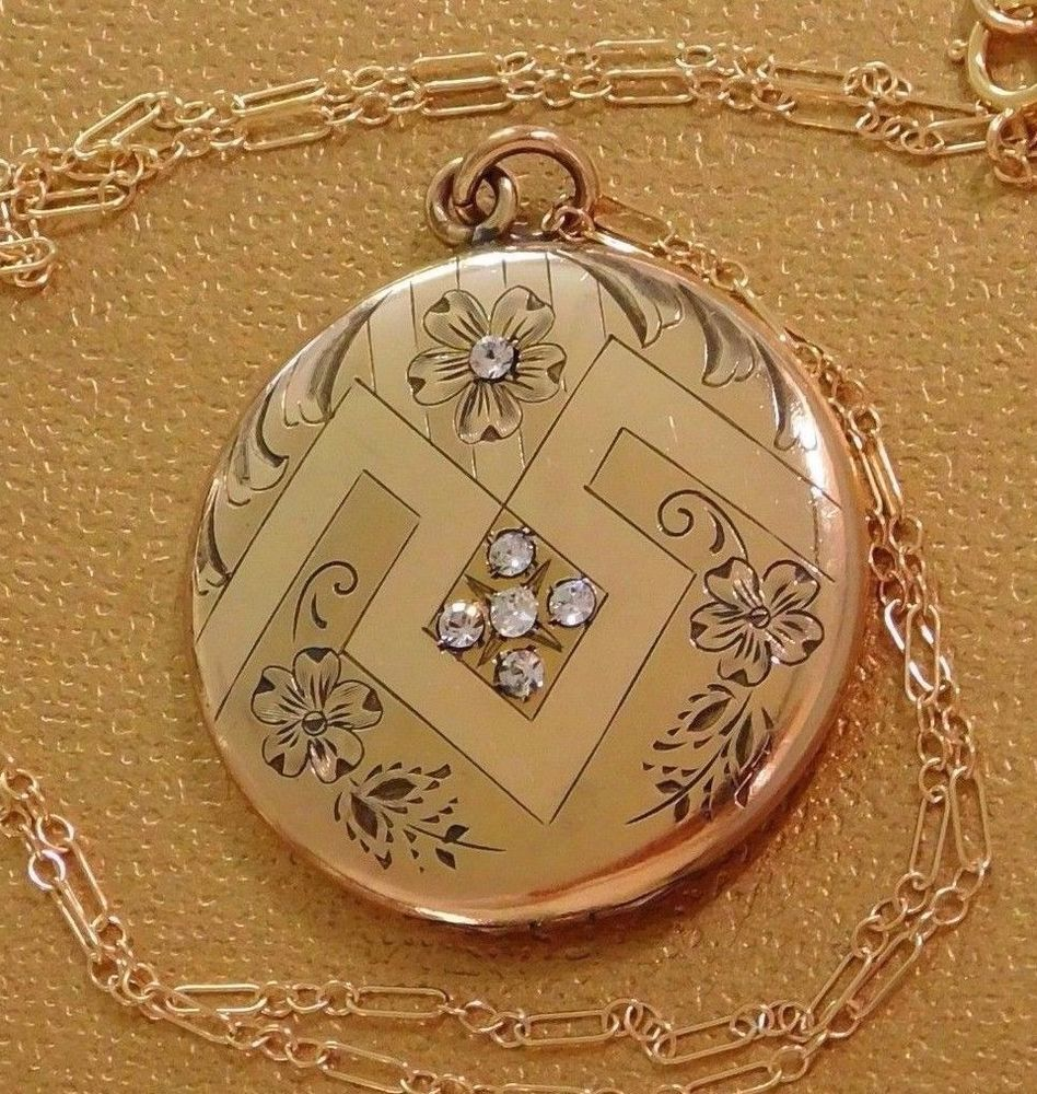 lockets accessories locket clear circle crystal index silver memory necklace