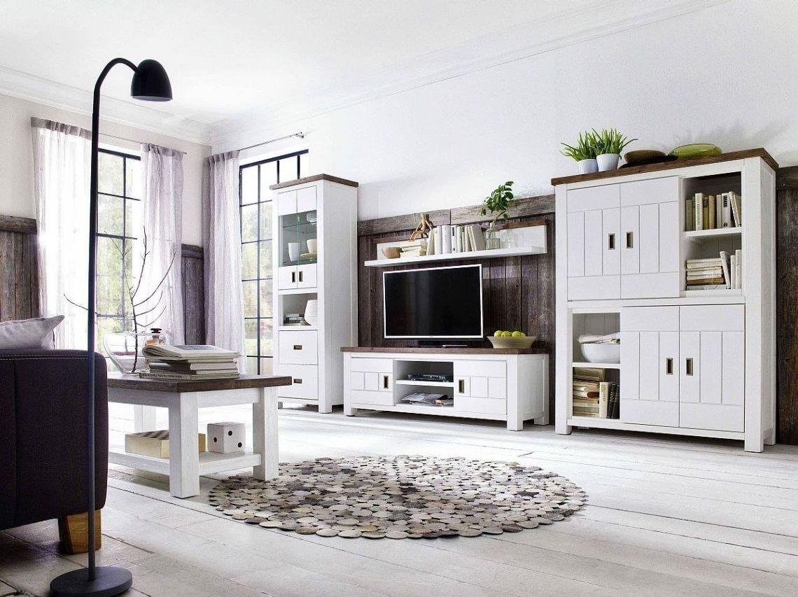Ehrfürchtig Wohnzimmermöbel Weiß Braun