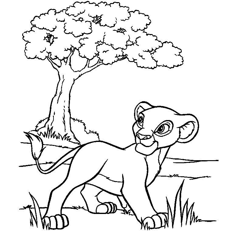 coloriage animaux de la savane colorier dessin imprimer coloriages pinterest savane. Black Bedroom Furniture Sets. Home Design Ideas