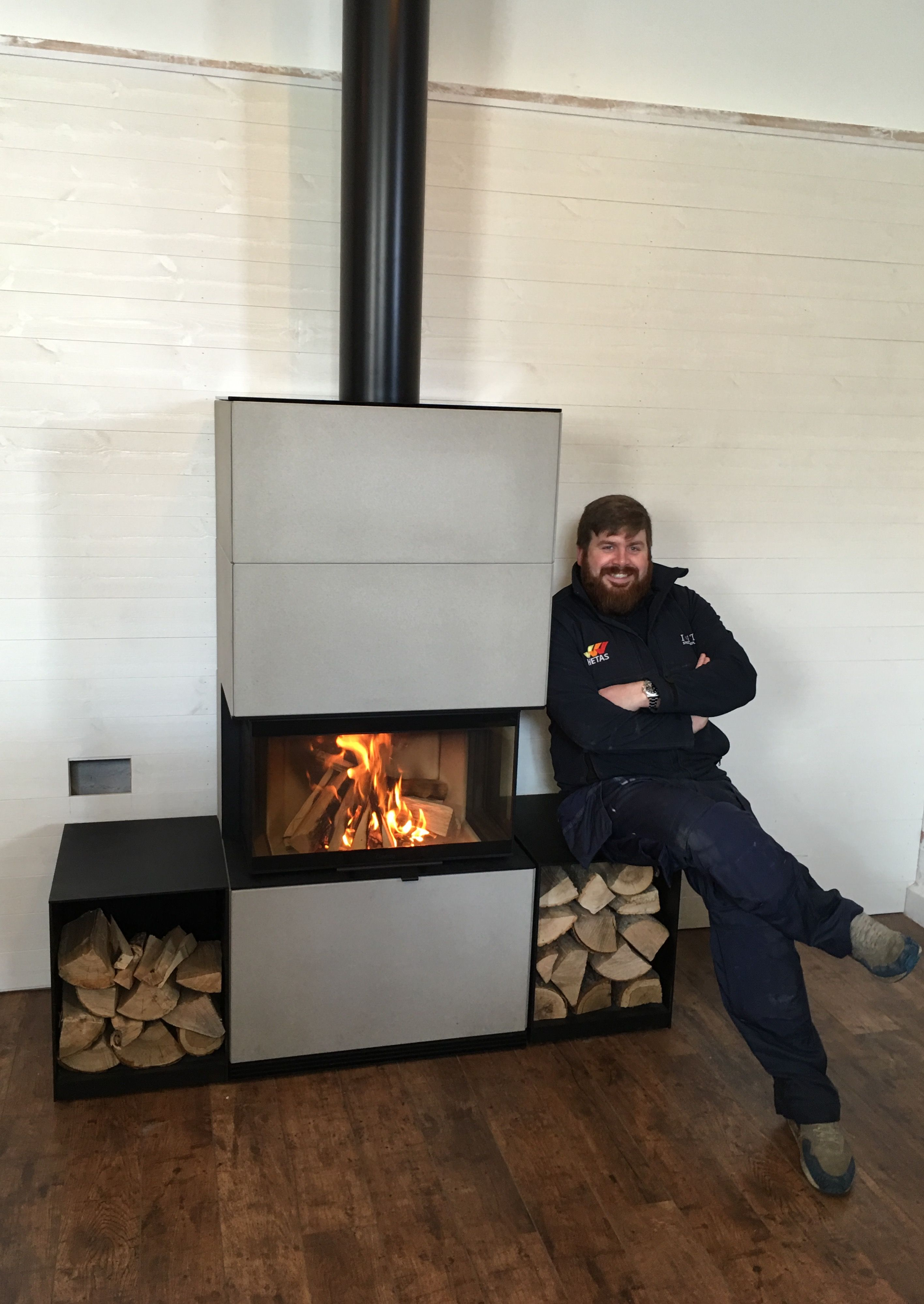 Contura i51A woodburning stove installed by Ignite Stoves and ...