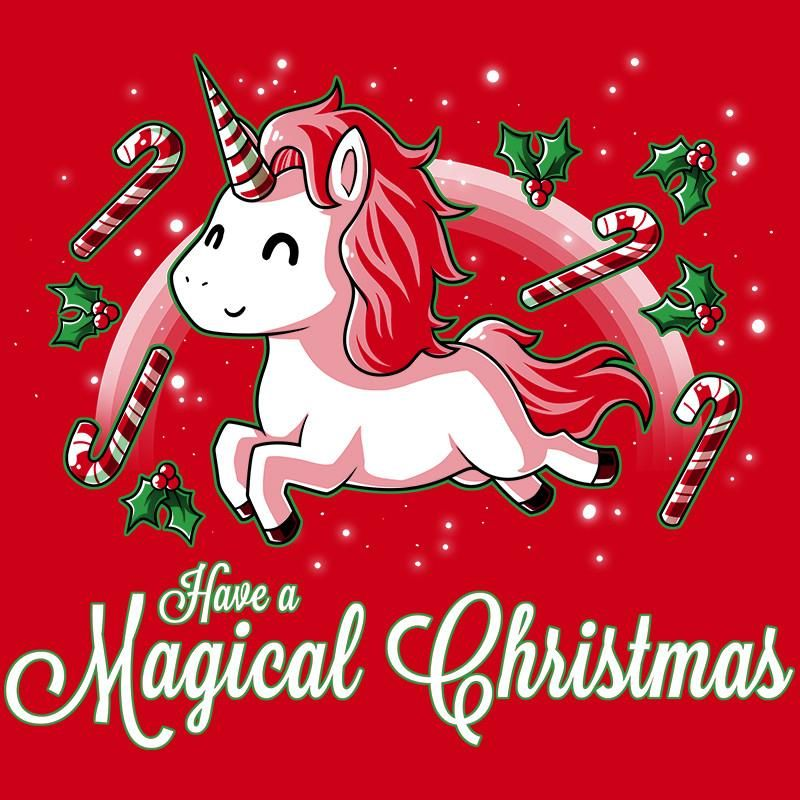 Simply Having A Magical Christmastime! Get The Red Have A Magical Christmas  T Shirt Only At TeeTurtle! Exclusive Graphic Designs On Super Soft Cotton  Tees. Great Ideas