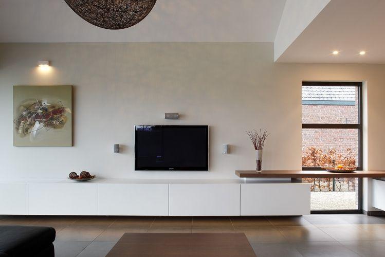 zwevend tv meubel woonkamer ideeà n pinterest tvs zoeken en