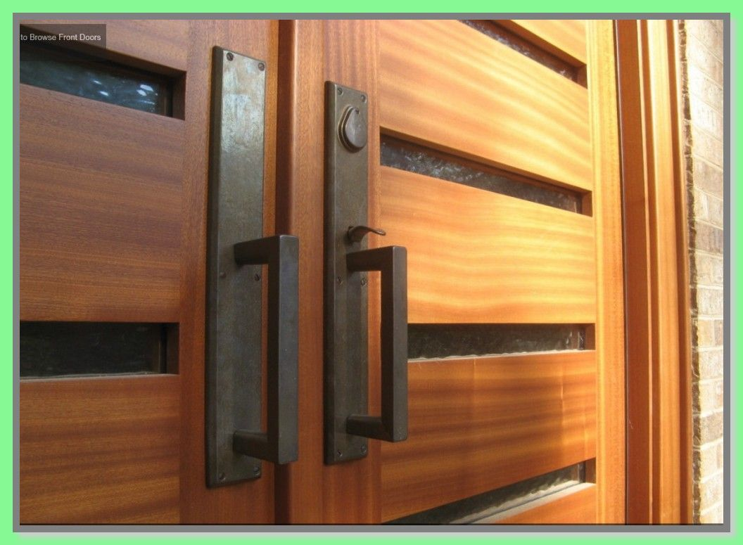 42 Reference Of Front Door Double Lock In 2020 Exterior Door Hardware Modern Exterior Doors Contemporary Front Doors