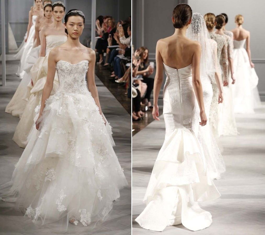 Monique Lhuillier 2014 Bridal Collection from NY Bridal Market...So breathtaking!
