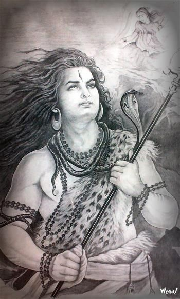 Lord Shiva Black And White Hd Wallpapers For Desktop And Mobile Base