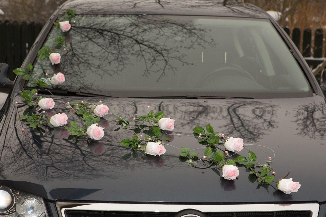 Wedding vehicle decorations  Pin by LenaDekor on Dekoracje ślubne na samochód  Wedding Cars