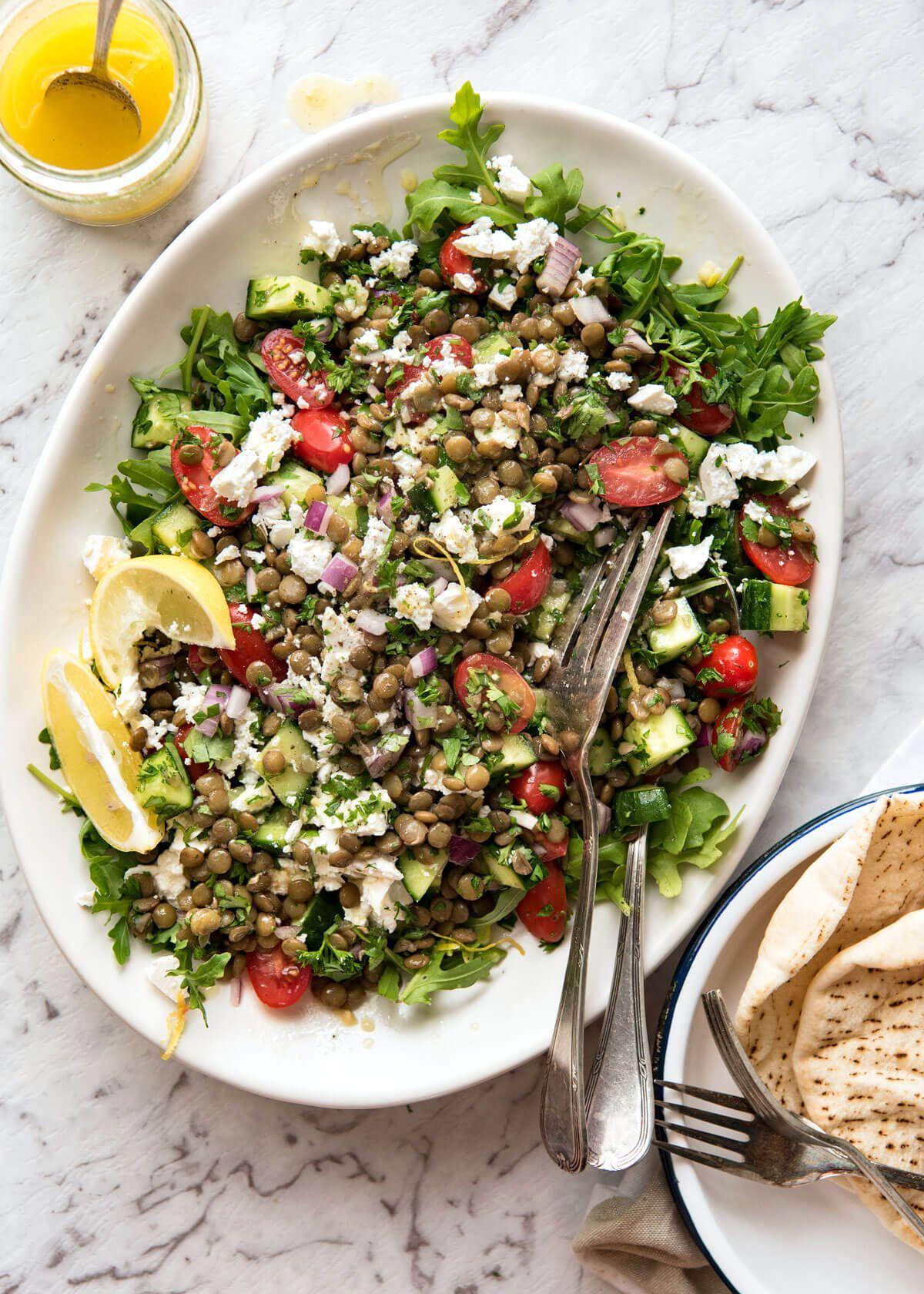 quinoa salad with lentils reciepe 22 day diet