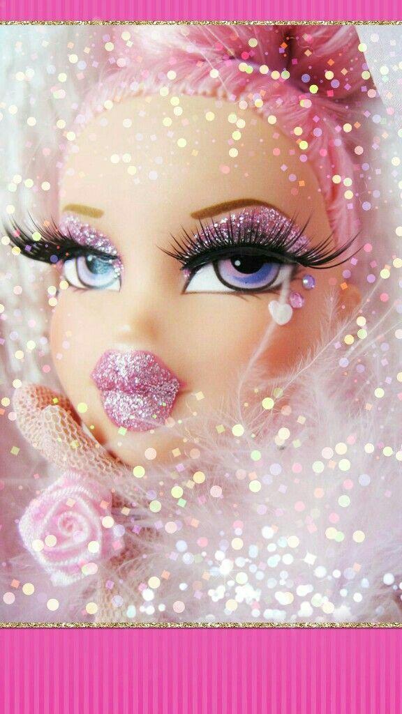 Glitter Bratz Doll Wallpaper Kawaii Wallpaper Bratz Doll Monster High Dolls