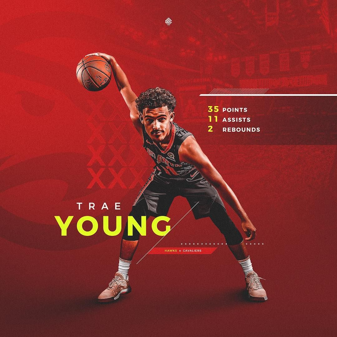 Nick Arley Caparas On Instagram Score Template For Atlhawks Traeyoung Nba Sports Graphic Design Sports Advertising Sports Design Inspiration