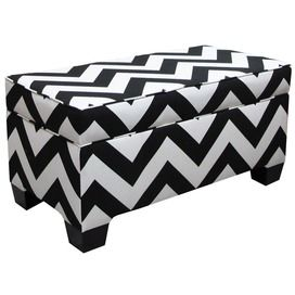 Thinking I could make this - Chevron is such a good look