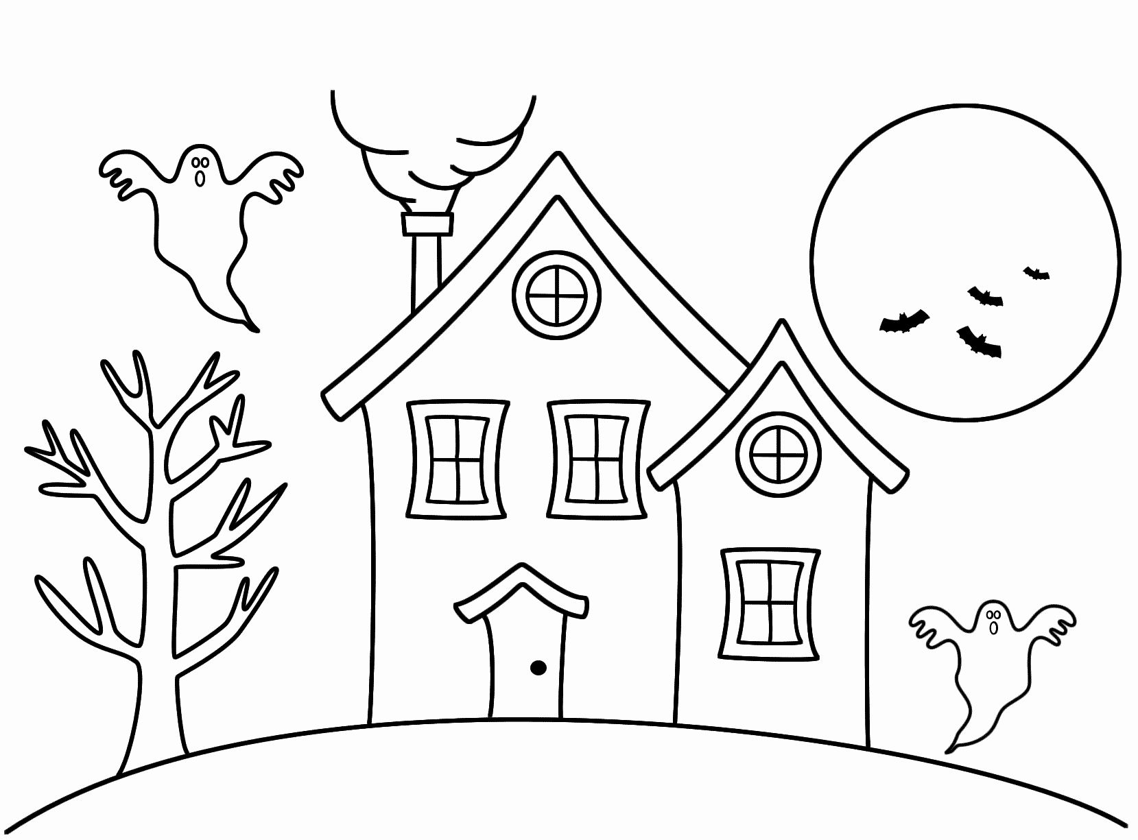Free Printable House Coloring Pages For Kids   1225x1659