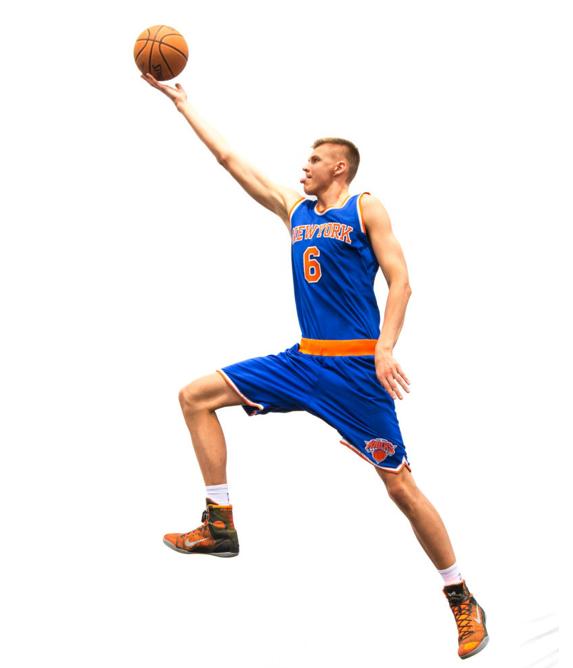 Kristaps Porzingis — Nike Kobe 9 Elite. Kristaps Porzingis — Nike Kobe 9  Elite Nba Knicks ... 7d0cc28f0