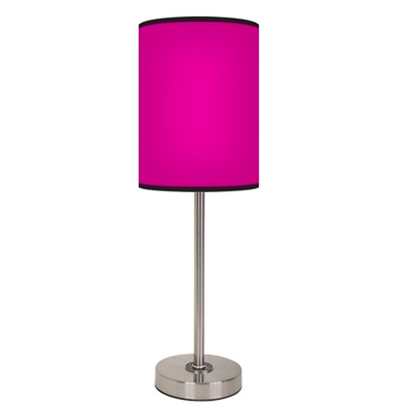 Hot Pink Lamp | Dorm, Room lamp and Big girl rooms