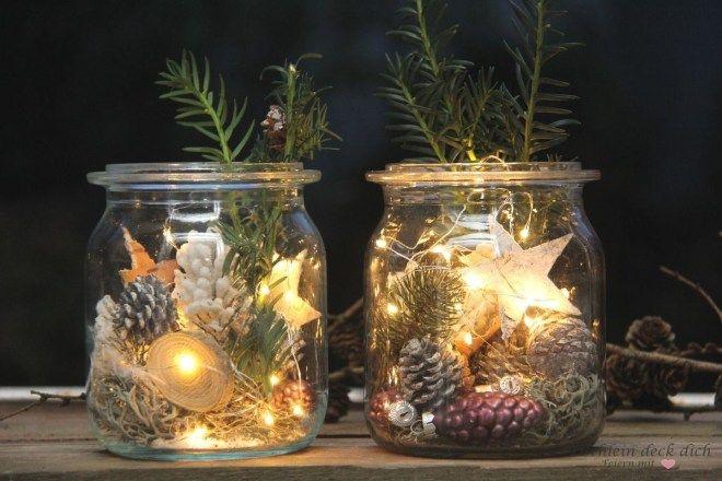 Zauberhafte Weihnachtsstimmung auf dem Balkon mit Lichterketten und VARTA + Gewinnspiel #christmasdeko