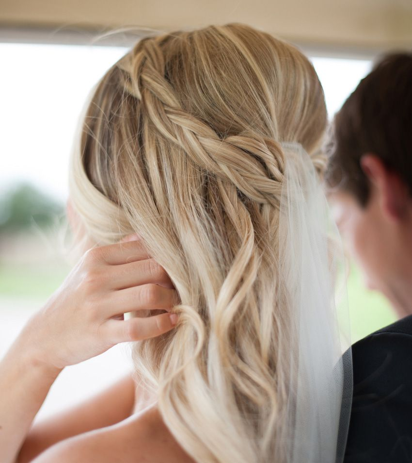 5 beautiful braided hairstyles for your wedding | braid crown, soft