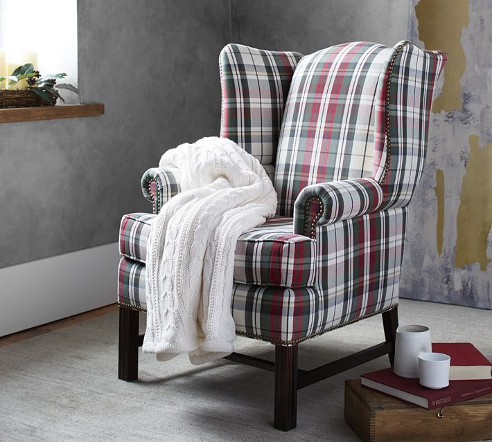 Thatcher Upholstered Armchair   Denver Plaid. Furniture UpholsteryUpholstered  ...