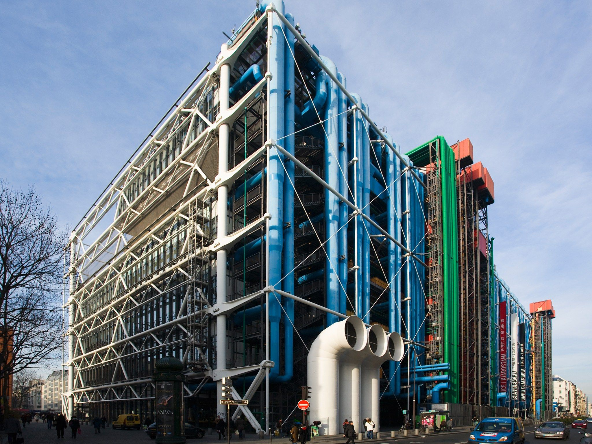 Opere Di Renzo Piano centre-pompidou-paris-france (with images) | museum