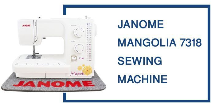 Janome Magnolia 40 Sewing Machine Review Singer 40 Stylist Impressive Janome Magnolia 7318 Sewing Machine
