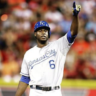 Lorenzo Cain. Huge RBI double for the AL All-Star team. #ForeverRoyal | royals.com