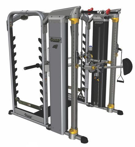 Hoist Mi7 Dual Smith Machine And Functional Trainer At