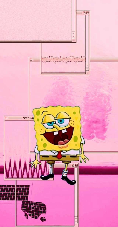Spongebob Aesthetic Phone Wallpapers 3