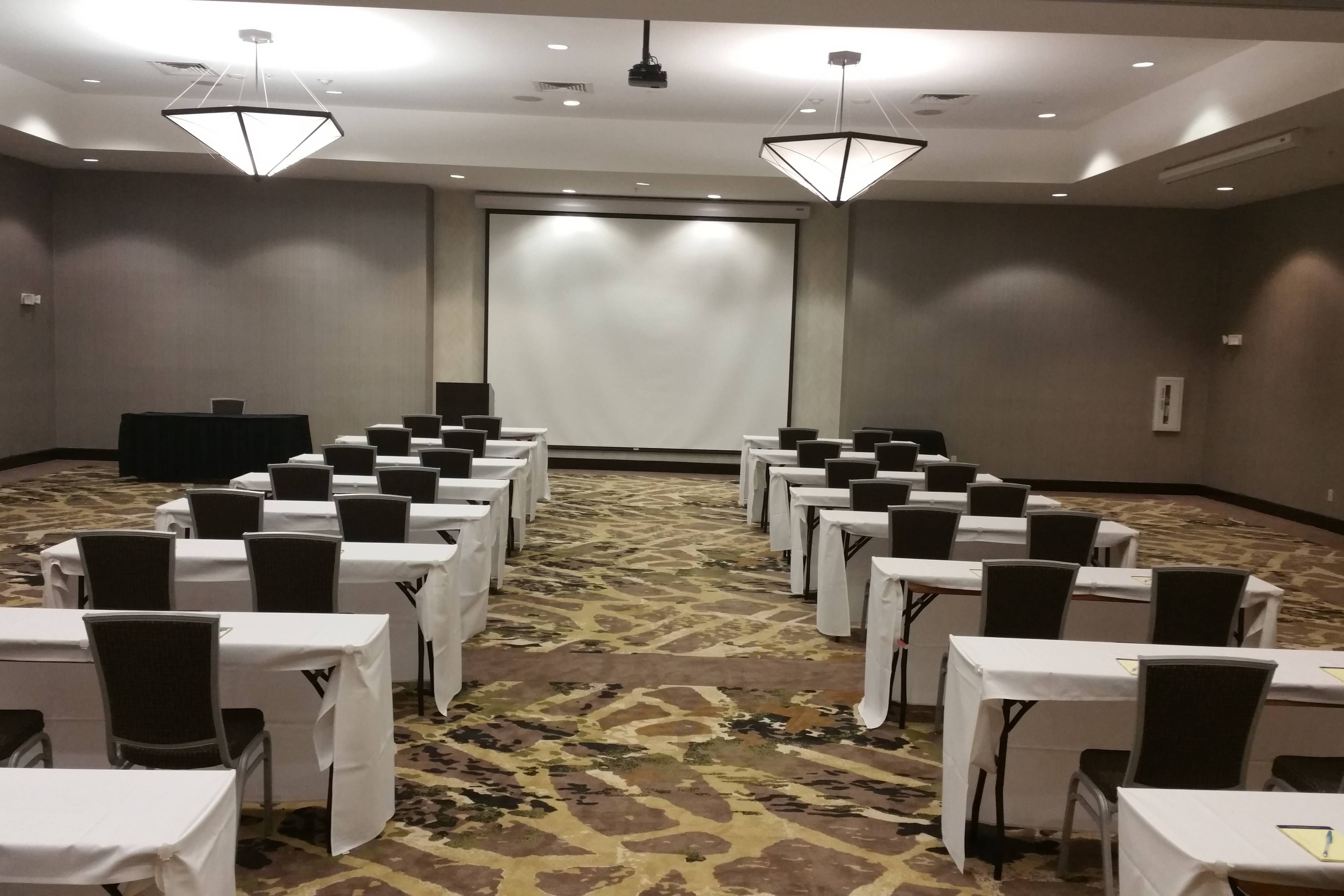 SpringHill Suites Denton Grand Ballroom ClassroomStyle