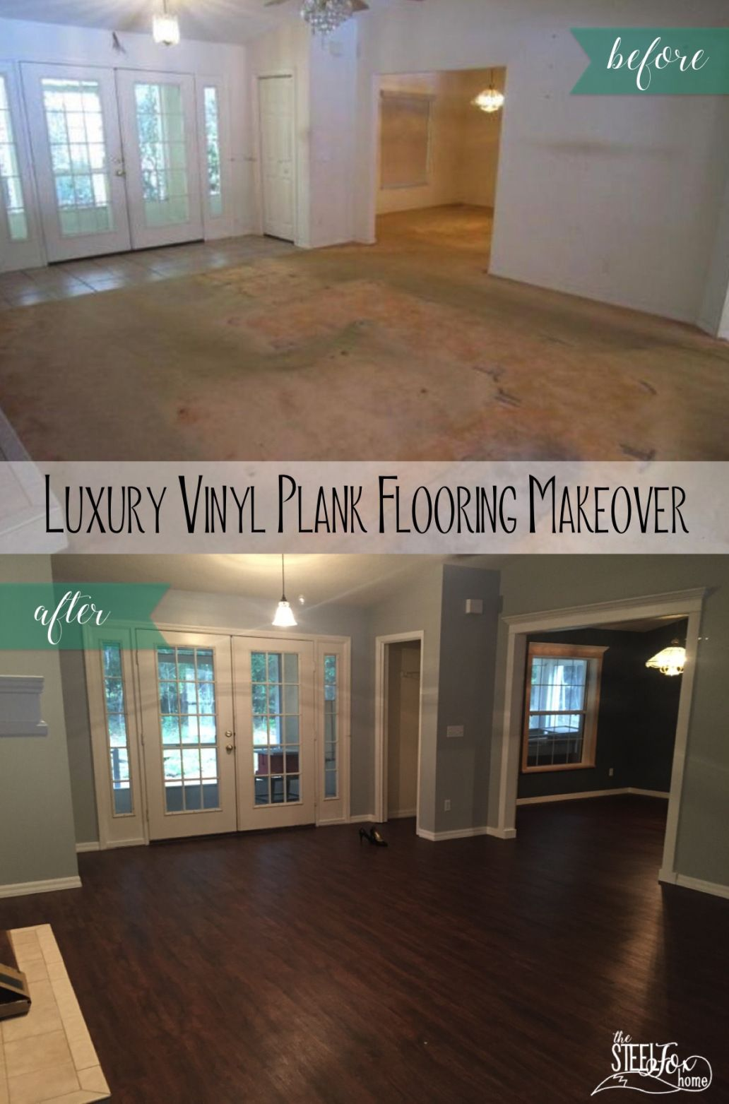 Luxury Vinyl Plank Wood Flooring Whole House Makeover Why Choose Pros And Cons