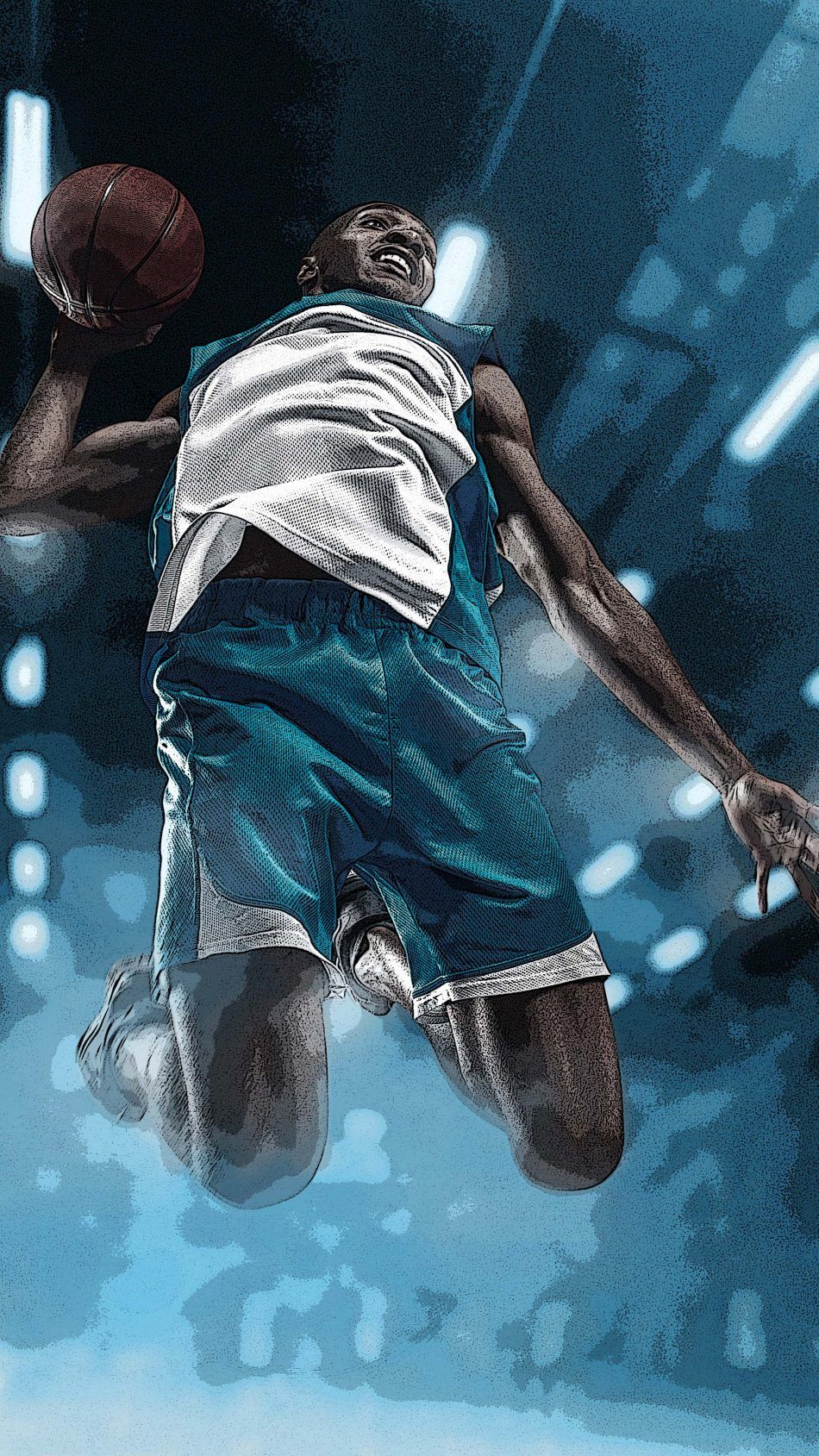 Basketball Sports Artwork Sports Wallpapers Mobile Wallpaper