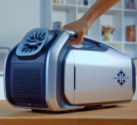 This Portable Battery Powered AirConditioner Is Perfect