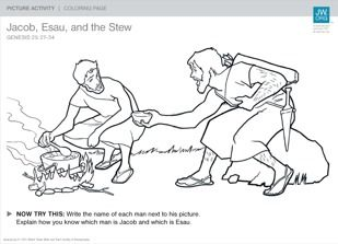 jacob esau and the stew