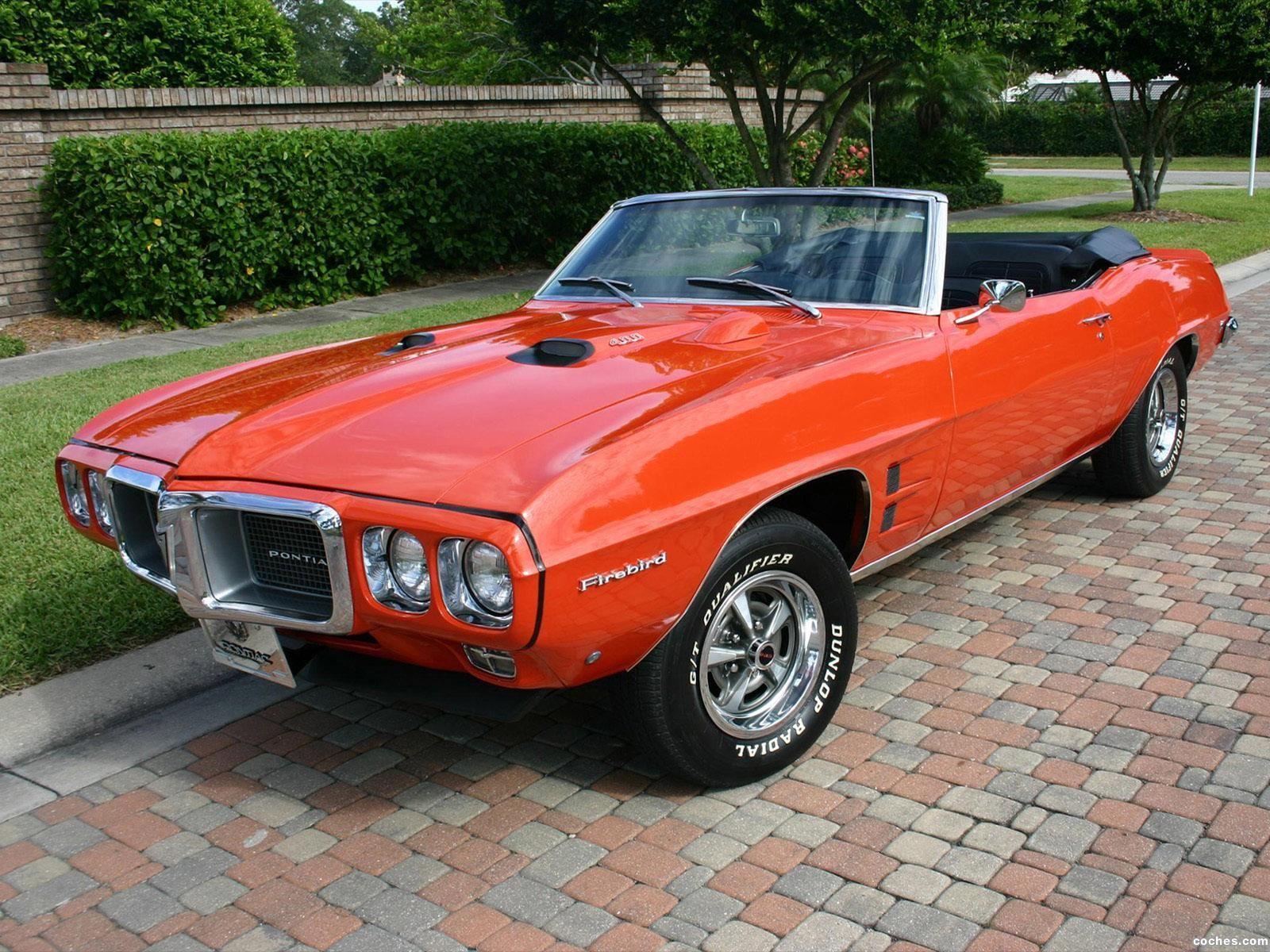 Convertible pontiac firebird 400 69 i could so enjoy this car
