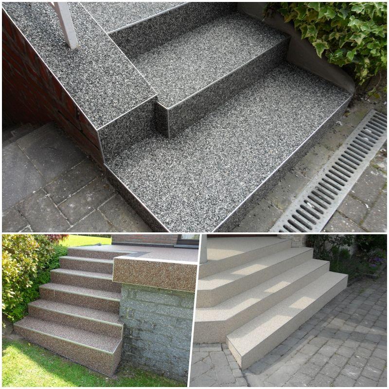 Aussentreppe Renovieren Steinteppich Treppensanierung Treppe Sanieren Treppe Treppenrenovierung