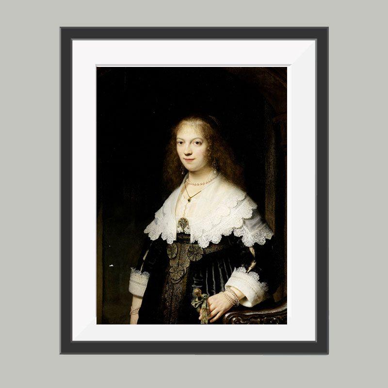 Rembrandt poster, leuke poster om bijvoorbeeld op te hangen in de ...