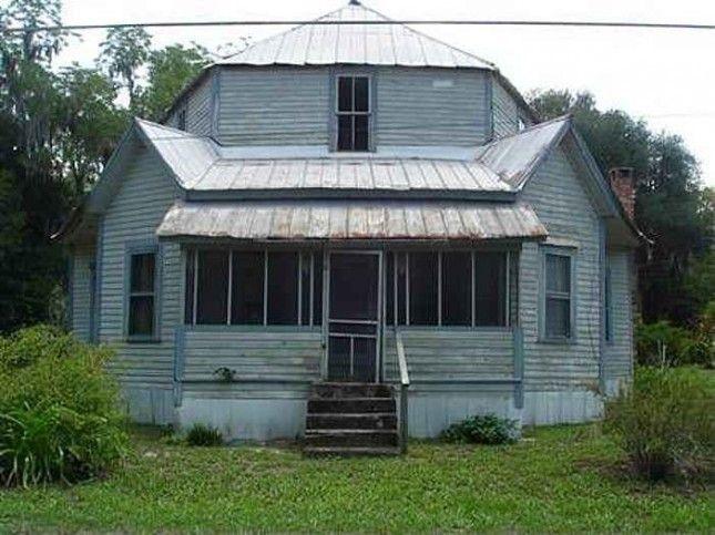 1895 Jasper Fl Octagon House House Restoration