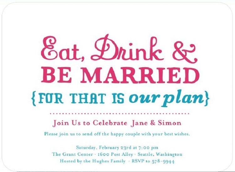 Pre Wedding Party Invitation Wording Invitation Ideas Wedding