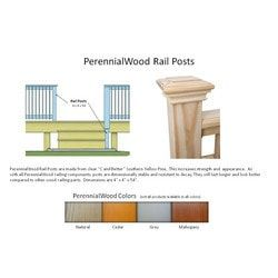 Best Perennialwood Modified Wood Deck Railing Components And 640 x 480