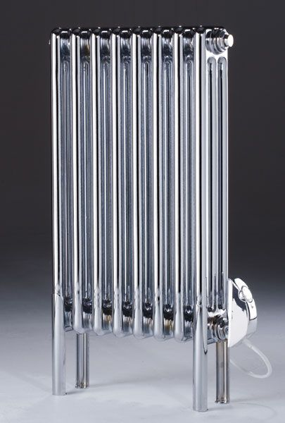 Designer Electric Wall Heaters gallery thumbnail Electric Icon Radiator In Chrome Electric Iconelectric Radiatorswall