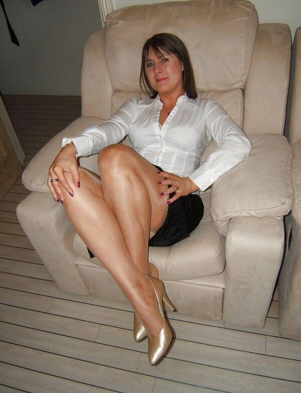 Hot milfs heels mules stocking domination gallery Truly