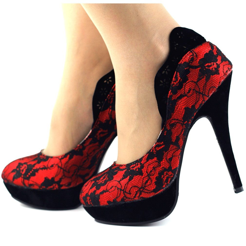 Pumps heels, Platform high heels