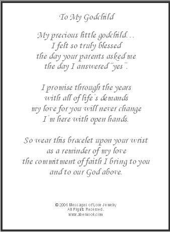 To my godchild godchild gift religion pinterest godchild to my godchild godchild gift negle Gallery