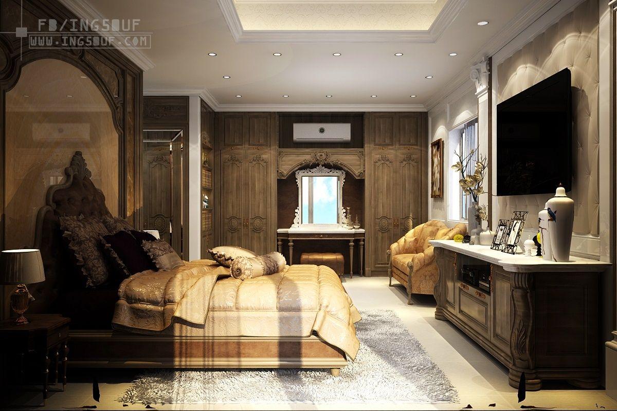 تصميم غرفة نوم ماستر فاخرة Master Bedroom اوتوكاد Dwg غرف نوم ماستر 2020 غرفة نوم ماستر فاخرة تصميم غرف نوم مع غ Master Bedroom Interior Decorating Interior
