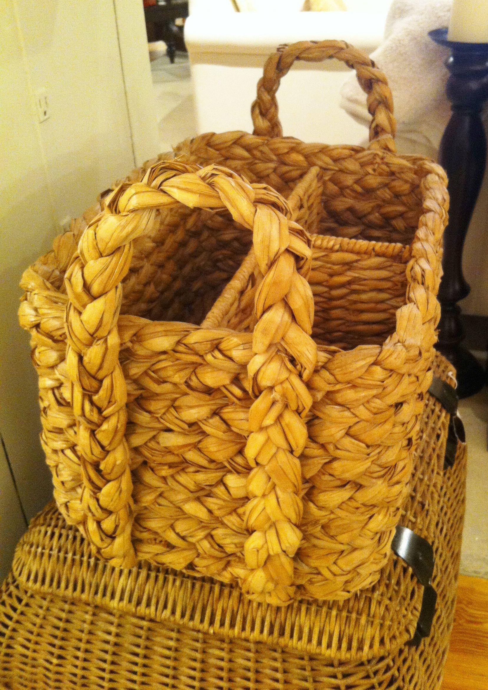 Pottery Barn baskets Pottery barn baskets, Basket
