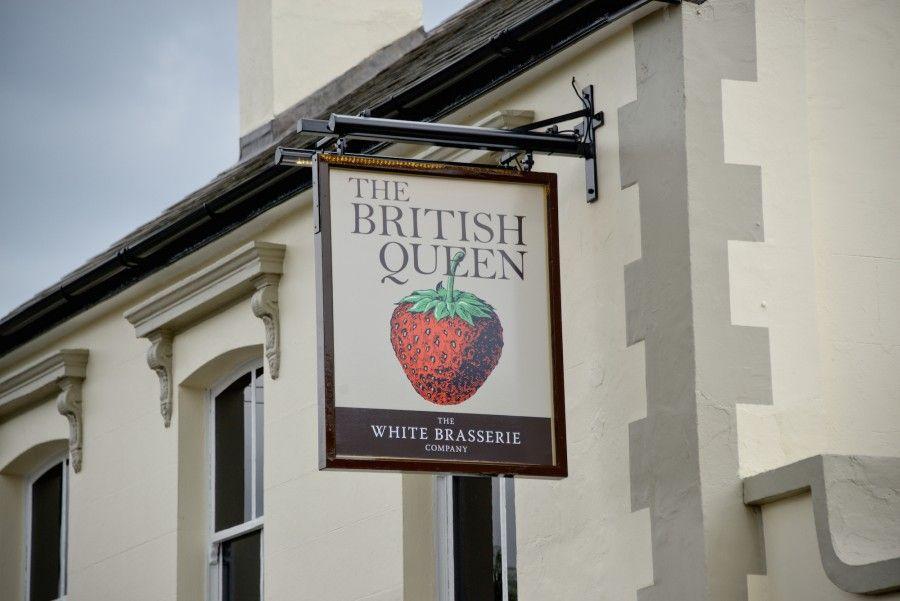 The British Queen Locksbottom Home British, Queen, Pub