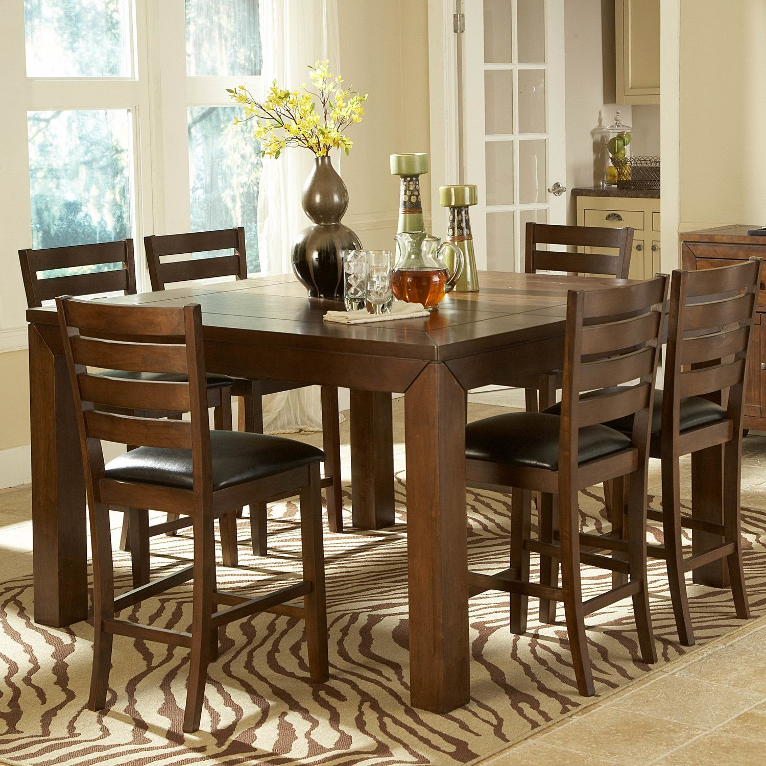 Woodbridge Home Designs Eagleville Counter Height Dining Table ...