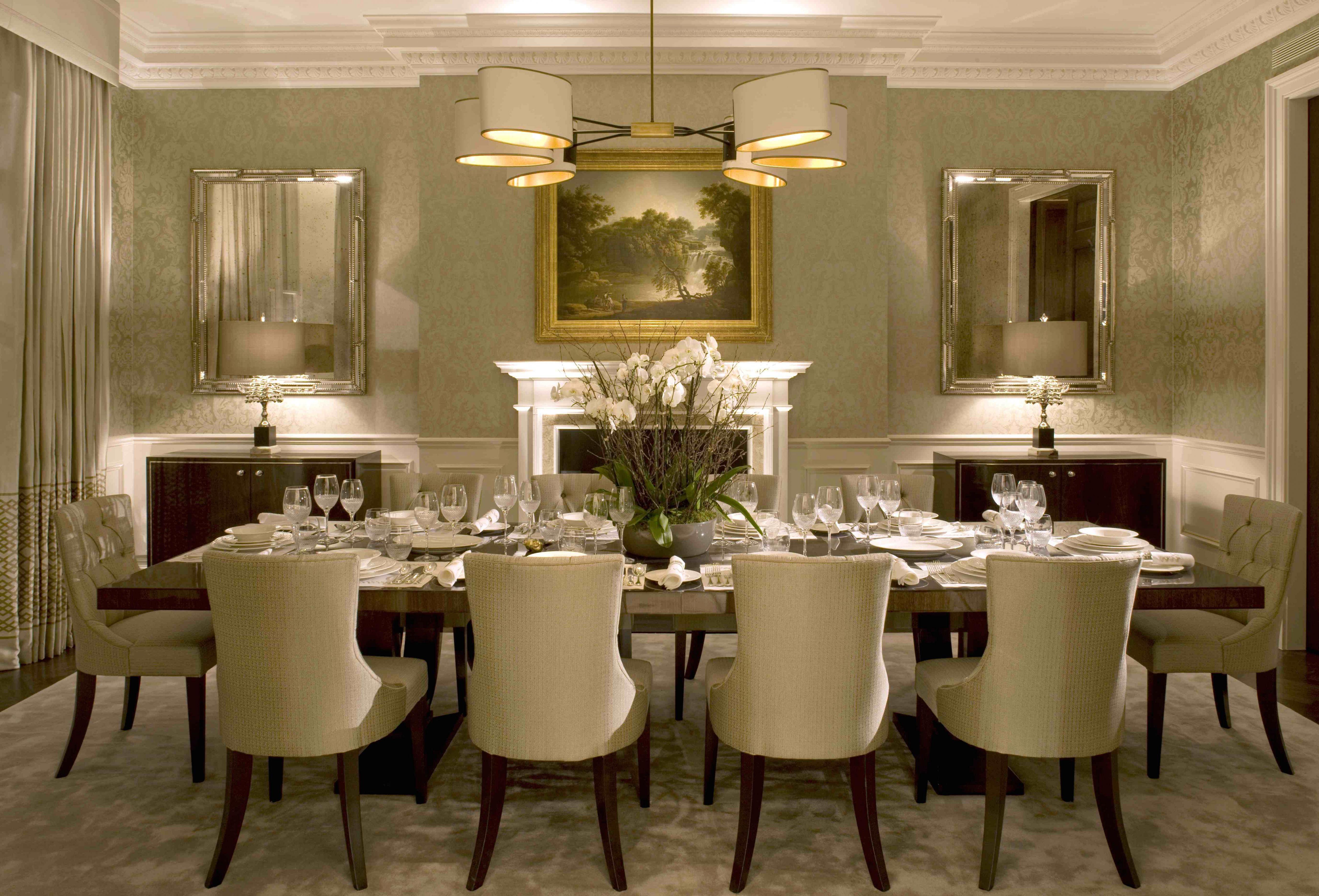 Alluring Formal Dining Room Ideas Your Residence Idea